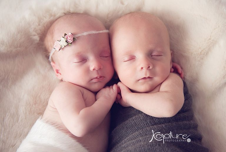 Twins photography
